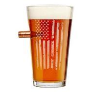 BenShot Patriotic Pint Glass