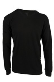 Men's Seeded & Sewn Basic Triblend Thermal Shirt