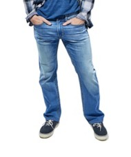 Men's Seeded & Sewn Jordan Regular Stretch Straight Jean