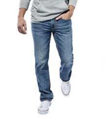 Men's Seeded & Sewn Jordan Regular Straight Jean