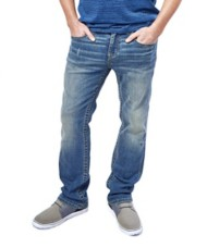 Men's Seeded & Sewn Nathan Slim Straight Jean