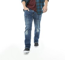 Men's Seeded & Sewn Jordan Regular Strech Straight Jean