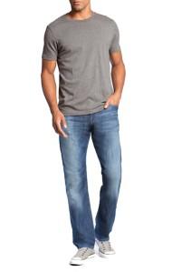 Men's Mavi Myles Straight Leg Jean