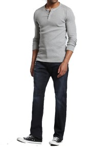 Men's Mavi Matt Relaxed Straight Leg Jean