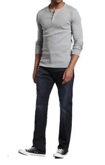 Men's Mavi Matt Relaxed Straight Leg Jean