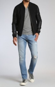 Men's Mavi Marcus Slim Straight Leg Autherntic Vintage Jean