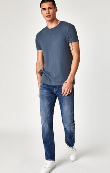 Zach Straight Leg Deep Cashmere Jean