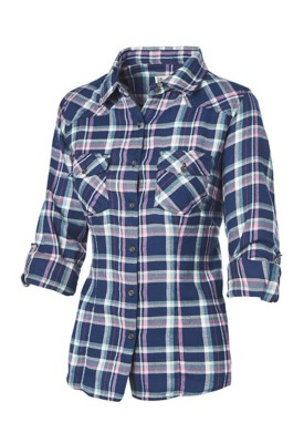 Women's Overdrive Plaid Button-Up Shirt