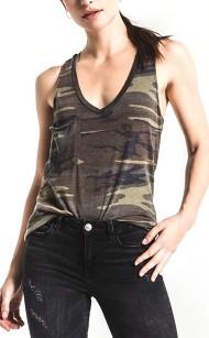 Women's Z Supply The Camo Pocket Racer Tank