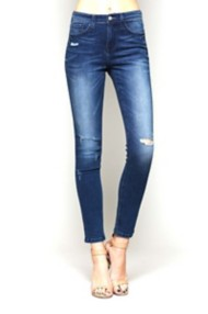 Women's Flying Monkey Distress High-Rise Skinny Jean