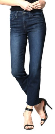 Women's Flying Monkey Raw Cuff High-Rise Straight Leg Jean