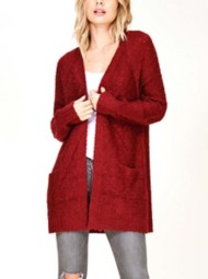 Women's Staccato Ribbed Cardigan