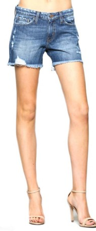 Women's Flying Monkey Distressed Short