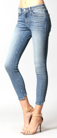 Women's Flying Monkey Reverse Step Hem Jean
