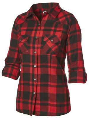 Women's Overdrive Plaid Button Up Shirt