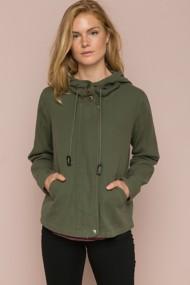 Women's Hem & Thread Oversized Military Jacket