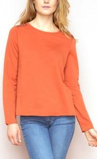 Women's Hem & Thread Studded Long Sleeve Shirt