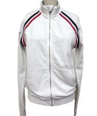 Women's Hem & Thread Striped Jersey Track Jacket