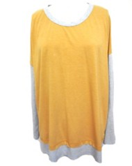 Women's Hem & Thread Scoop Back Sweater