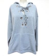 Women's Hem & Thread Oversized Lace Sweatshirt