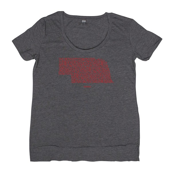Charcoal/Red