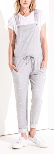 Women's Z Supply Star Print Overalls