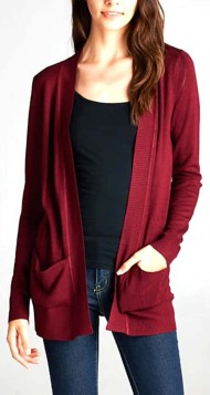 Women's Staccato Oversize Band Cardigan