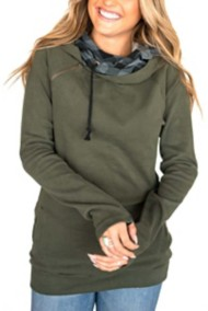 Women's Ampersand Ave Double Hooded Sweatshirt