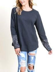 Women's Doe & Rae Brushed Sweater