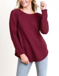Women's Doe & Rae Macrame Back Sweater