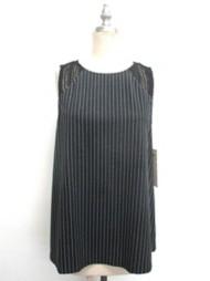 Women's Doe & Rae Striped Crochet Tank