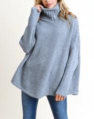 Women's Doe & Rae Chunky Knit Cowl Neck Sweater