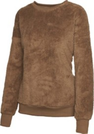 Women's Staccato Fleece Pullover Crew Sweatshirt