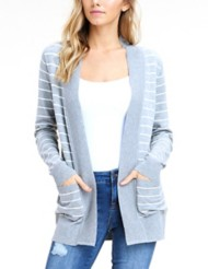 Women's Staccato Rib Banned Cardigan
