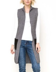 Women's Mystree Pocket Point Open Vest