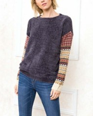Women's Mystree Chenille Sweater