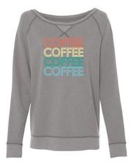 Women's Park Bench Apparel Coffee Crew Sweatshirt