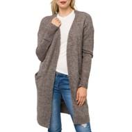 Women's Mystree Side Pockets Long Cardigan