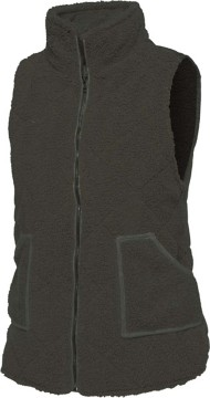 Women's Staccato Teddy Bear Fur Vest