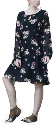 Women's Angie Floral Long Sleeve Dress