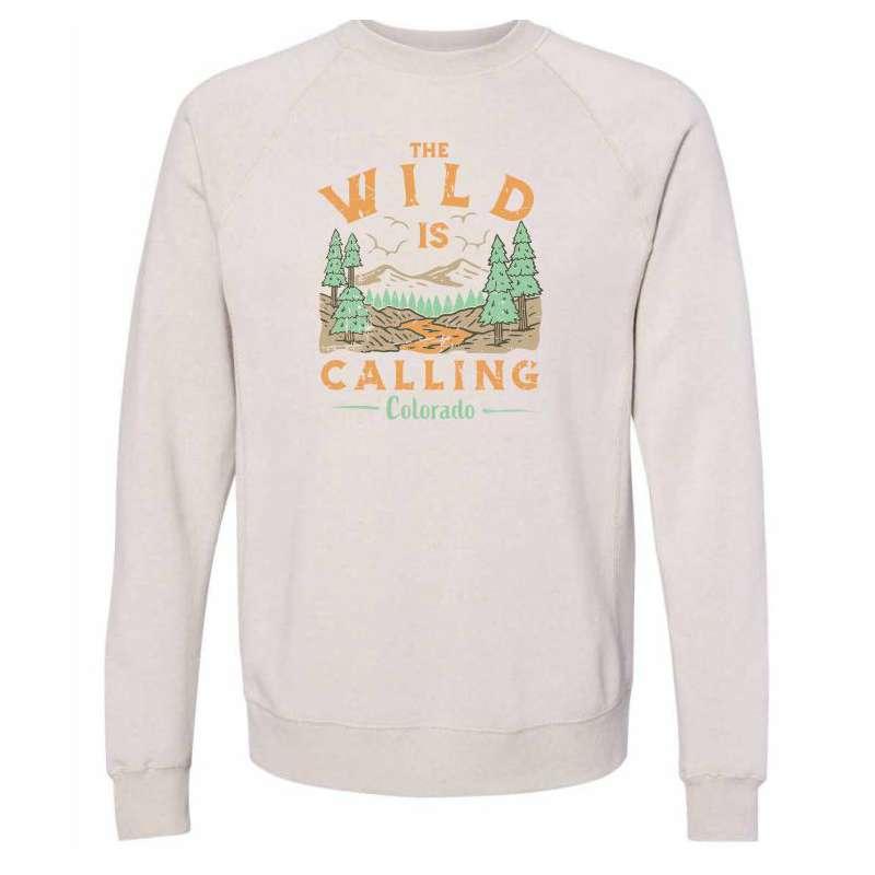 Women's Park Bench Wild Calling Crew Sweatshirt