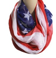 Women's Tommy and Me Americana Infinity Scarf