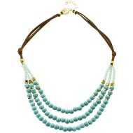 Women's Pannee Triple Bead Turquoise Necklace