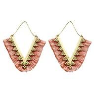 Women's Pannee Tread Thread Diamond Earrings
