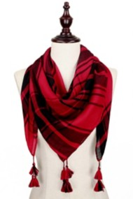 Women's Elegant Essence Game Day Plaid Scarf
