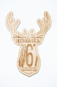 Park Bench Apparel NE Buck Wood Sticker