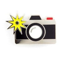 These Are Things Camera Pin