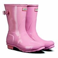 Women's Hunter Original Adjustable Back Short Rain Boots