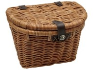 Electra Woven Rattan Basket with Lid