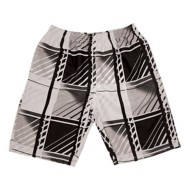 Men's Banana Split Diagonal Plaid Volley